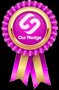 Our Pledge Rosette